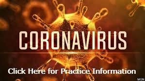 Coronavirus: Clicke Here for Practice Information